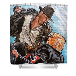 Nazis. I Hate Those Guys. Shower Curtain