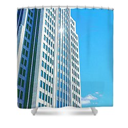Nbc Tower Shower Curtain