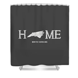 Nc Home Shower Curtain by Nancy Ingersoll