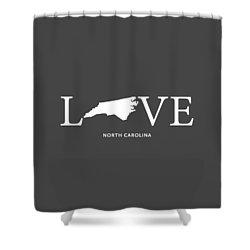 Nc Love Shower Curtain by Nancy Ingersoll