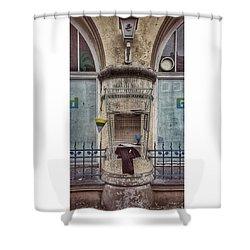 #ndh #nordhausen #freebox #greenisland Shower Curtain