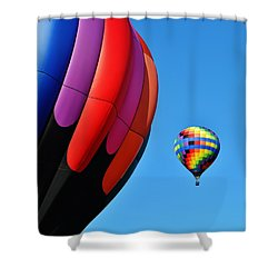 Near And Far Shower Curtain