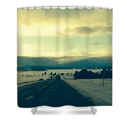 Near Hartsel Shower Curtain