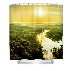 Near Table Rock Lake Shower Curtain
