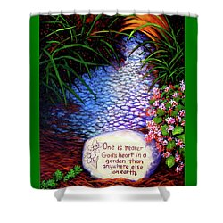 Garden Wisdom, Nearer Shower Curtain