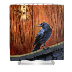 Nearing Midnight Shower Curtain by Terry Webb Harshman