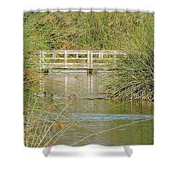 Neary Lagoon Shower Curtain