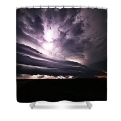 Nebraska Beast Shower Curtain