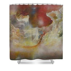 Nebulous Shower Curtain