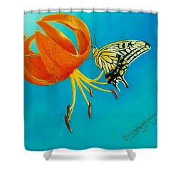 Nectar  Shower Curtain