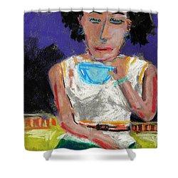 Need Coffee Shower Curtain by John Williams