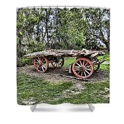 Need Horsepower Shower Curtain by Douglas Barnard