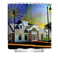 Needham Bank Ashland Ma Shower Curtain