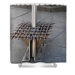Needle  Shower Curtain by Rob Hans