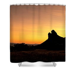 Needle Rock Shower Curtain