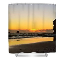 Needles Sunset Shower Curtain