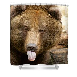 Neener-neener Shower Curtain