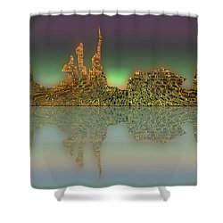 Neft Ardour Shower Curtain