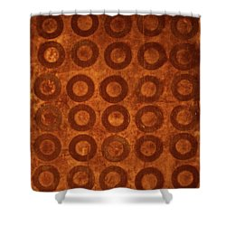 Negative Space Shower Curtain by Cynthia Powell