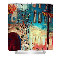 Neighborhood 2 Shower Curtain