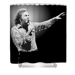 Neil Diamond Reaching Out Shower Curtain