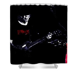 Shower Curtain featuring the photograph Neil Young by John  Kolenberg