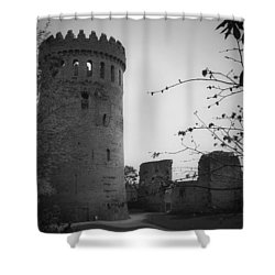 Nenagh Castle County Tipperary Ireland Shower Curtain