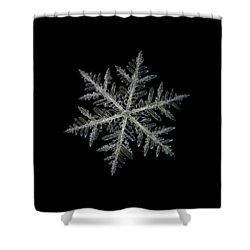 Neon, Black Version Shower Curtain