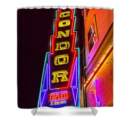 Neon Condor San Francisco Shower Curtain