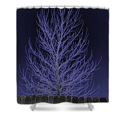 Neon Tree Shower Curtain