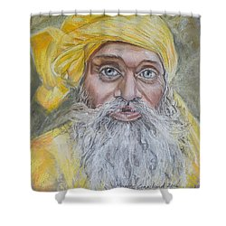 Nepal Man 6 Shower Curtain