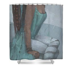 Nephthys Shower Curtain
