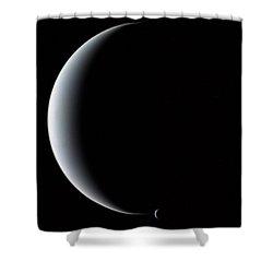 Neptune And Triton Shower Curtain