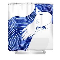 Nereeid Xxv Shower Curtain