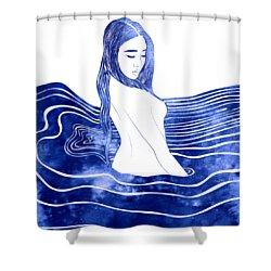 Nereid Xii Shower Curtain