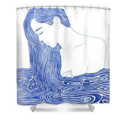 Nereid Xlvii Shower Curtain