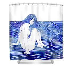 Nereid Xxxv Shower Curtain
