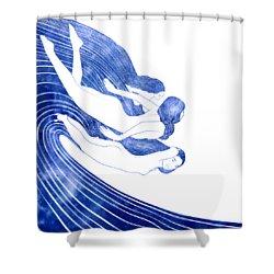 Nereids Shower Curtain