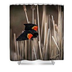 Nest Guard Shower Curtain
