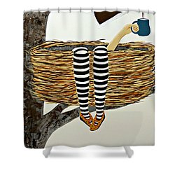 Nest Service Shower Curtain