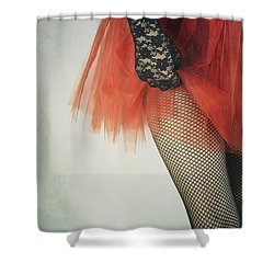 Net Stockings Shower Curtain