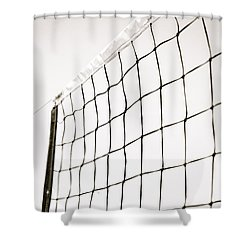 Shower Curtain featuring the photograph Netted by Wade Brooks