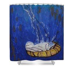 Nettle Jellyfish Shower Curtain
