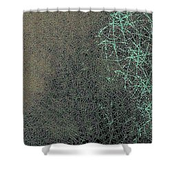 Neurons Shower Curtain