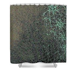 Neurons Shower Curtain