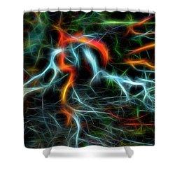 Neurons On Fire Shower Curtain