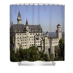 Neuschwanstein Castle Shower Curtain