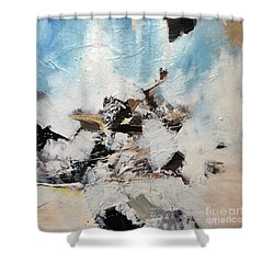 Nevada Falls Shower Curtain