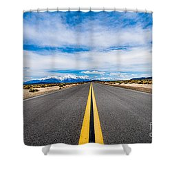 Nevada Road Trip Shower Curtain
