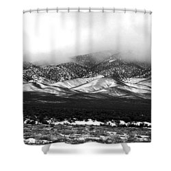 Nevada Snow Shower Curtain